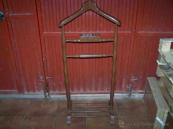 GALÁN DE NOCHE MUY ANTIGUO (Antigüedades - Muebles Antiguos - Auxiliares Antiguos)