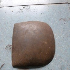 Antigüedades: 1 ANTEOJERA METALICA PARA CABEZADA, NECESITA FORRARLA DE CUERO. Lote 39890905