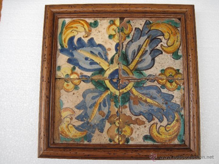 Azulejos antiguos de valencia manises siglo comprar - Azulejos clasicos ...