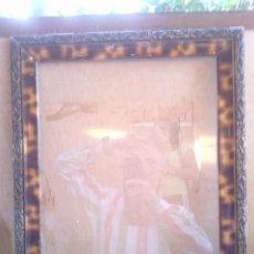 Antigüedades: ANTIGUO MARCO DE MADERA PARA FOTOS O ESPEJO.. Lote 39908784