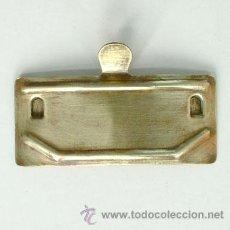 Antigüedades: PUERTA DE ANTIGUA ESTUFA DE METAL. Lote 39911629