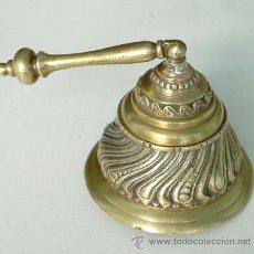 Antigüedades: ANTIGUA Y ORIGINAL CAMPANA, CAMPANILLA DE METAL. Lote 39911704