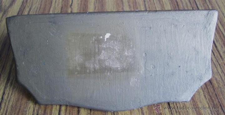 Antigüedades: PEANA PARED de escayola - Foto 2 - 39925324