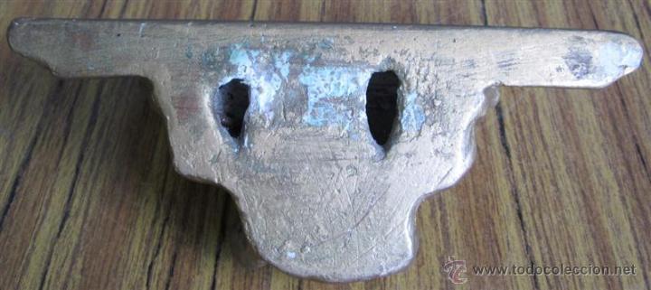 Antigüedades: PEANA PARED de escayola - Foto 3 - 39925324