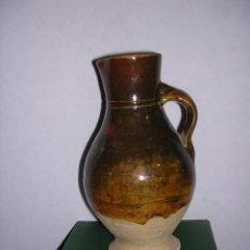 Antigüedades: (M) ANTIGUA JARRA MEDIEVAL DE VOLTA ,ESMALTADA - 22X13 CM. VER FOTGR. . Lote 39938531