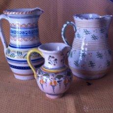 Antigüedades: JARRAS DE CERAMICA TRES. Lote 39957586