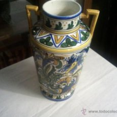 Antigüedades: ANTIGUO JARRÓN TALAVERA. Lote 39956470