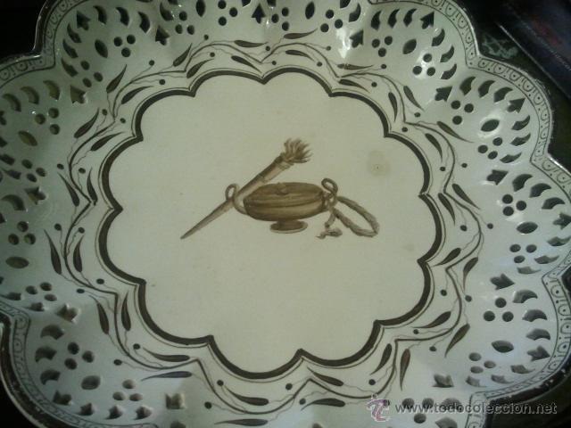 ANTIGUO PLATO DE CERAMICA INGLESA WEDGWOOD (Antigüedades - Cristal y Vidrio - Inglés)
