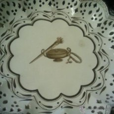 Antigüedades: ANTIGUO PLATO DE CERAMICA INGLESA WEDGWOOD. Lote 39957781