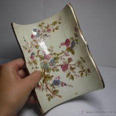 Antigüedades: ESCURRIDOR DE ESPARRAGAGOS DE PORCELANA ALEMANA (CON MARCA). LUDWIG WESSEL.. Lote 39959711