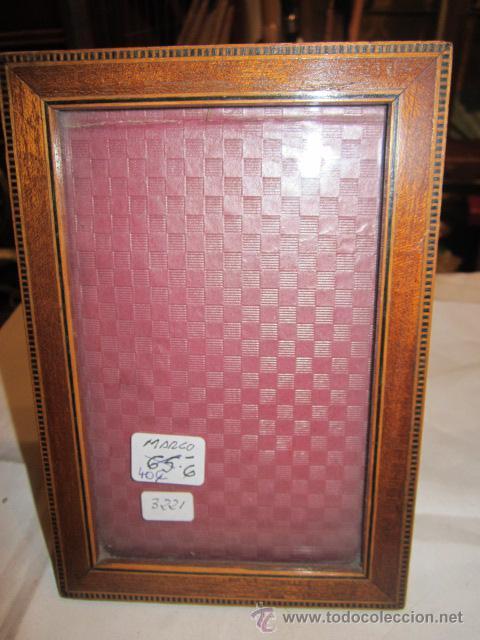 portafotos de madera antiguo, para foto de 8 x - Comprar Portafotos ...