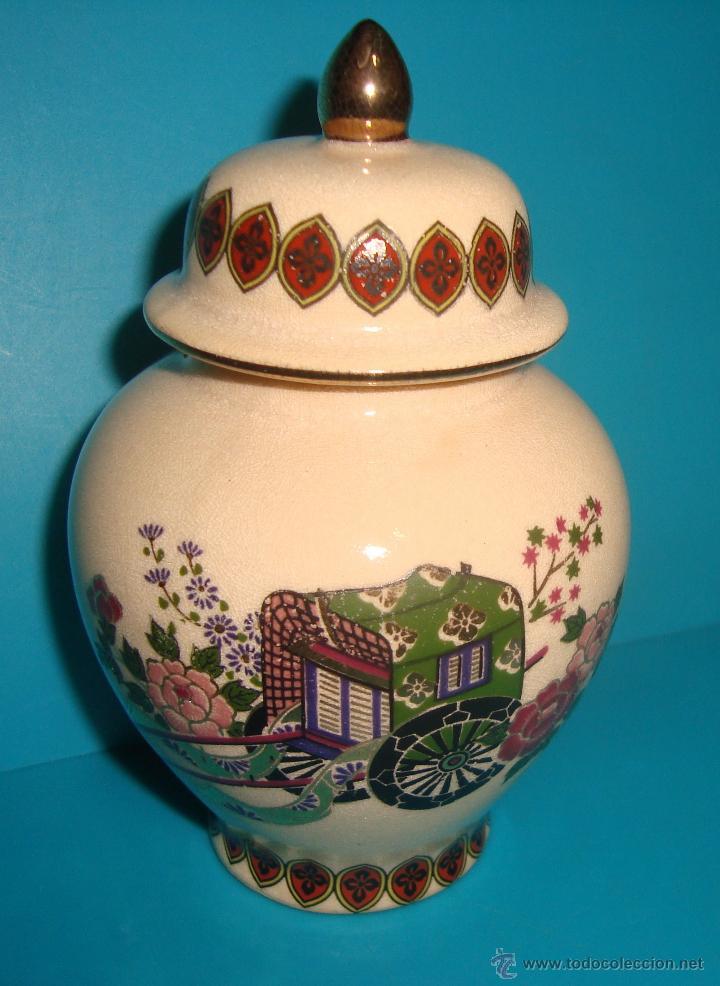 JARRON - TIBOR - BOTE DE PORCELANA SATSUMA JAPÓN 11CM. DE ALTO (Antigüedades - Porcelana y Cerámica - Japón)