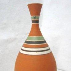 Antigüedades: JARRON DE CERAMICA FIRMADO. Lote 39969214