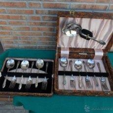 Antigüedades: CUBIERTOS ALPACA. Lote 39983827