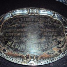 Antigüedades: (PU-68)BANDEJA DE JOSE RAMOS RODRIGUEZ,CHOCOLATES Y CAFES(MEDINA DEL CAMPO). Lote 39998701