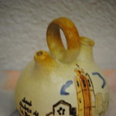 Antigüedades: PRECIOSO BOTIJO MODELO SAN ANDREU DE LA BARCA PINTADO A MANO. Lote 40124021