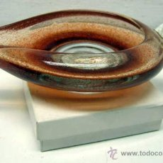 Antigüedades: LAMPARA ACEITE O LUCERNA EN CRISTAL DE MURANO : PERFECTO ESTADO. Lote 32446010