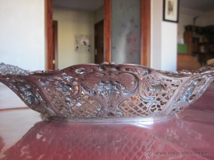 Antigüedades: BANDEJA DE PLATA DE LEY 916 - Foto 4 - 40016963