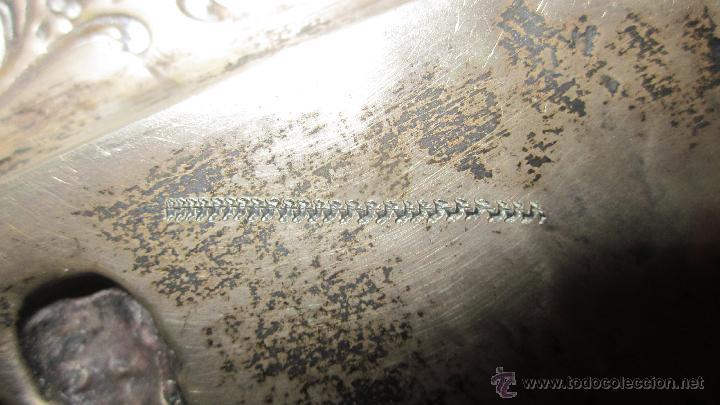 Antigüedades: BANDEJA DE PLATA DE LEY 916 - Foto 6 - 40016963