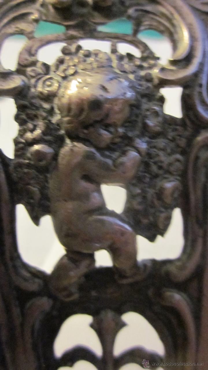 Antigüedades: BANDEJA DE PLATA DE LEY 916 - Foto 7 - 40016963