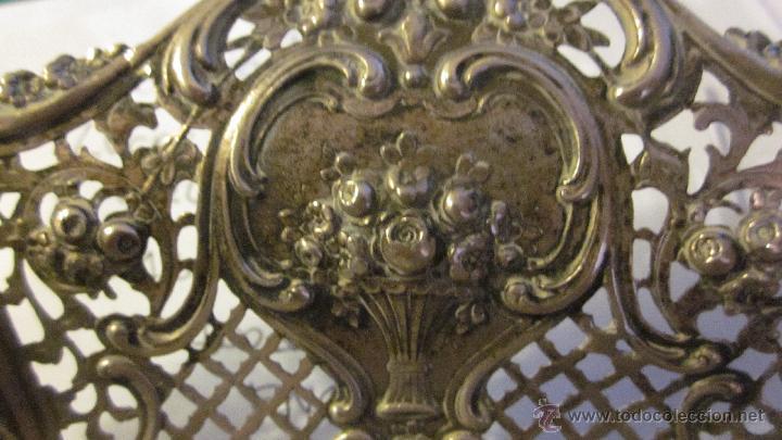 Antigüedades: BANDEJA DE PLATA DE LEY 916 - Foto 8 - 40016963