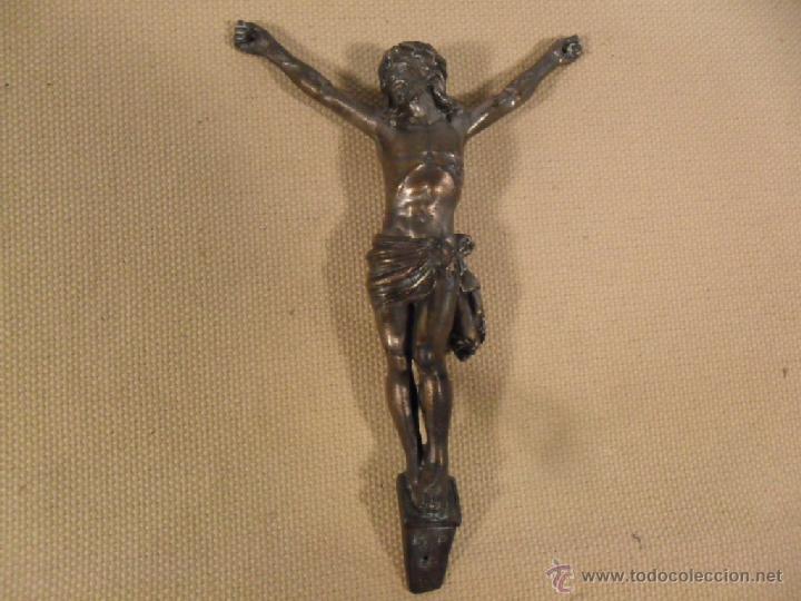 CRISTO PERTENECIENTE A UNA CRUZ (Antigüedades - Religiosas - Crucifijos Antiguos)