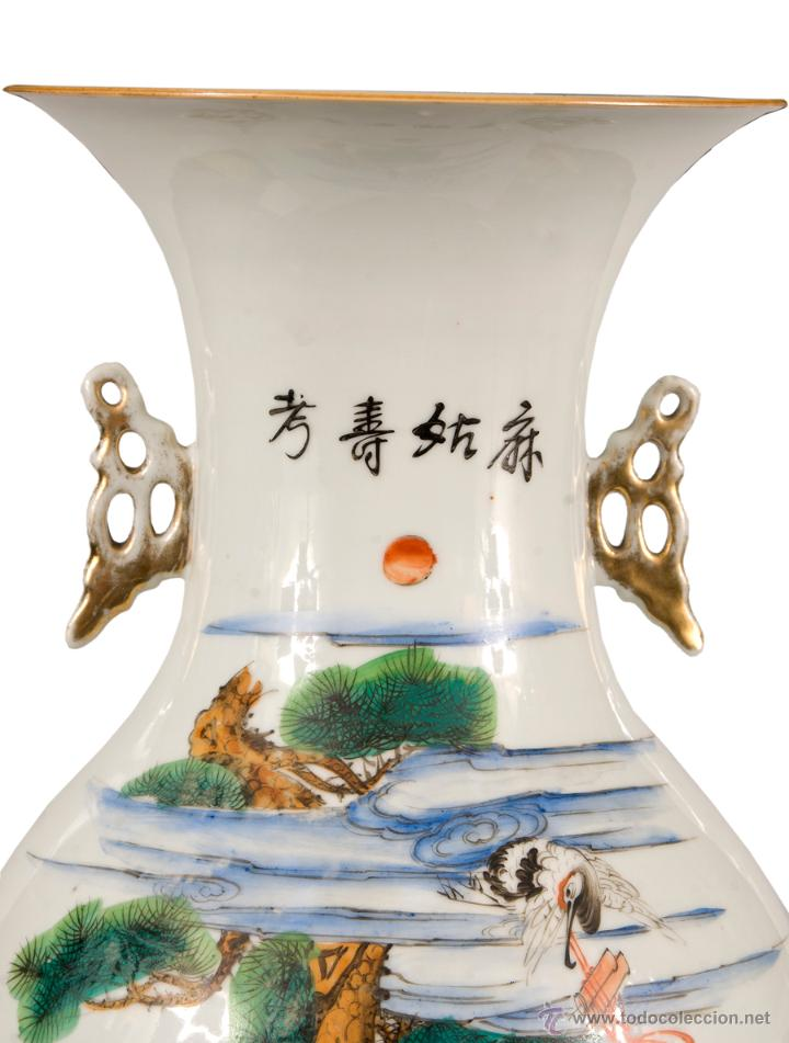 Antigüedades: JARRON CHINO SIGLO XIX-XX - Foto 3 - 40021531