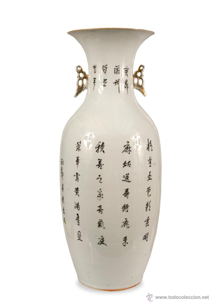 Antigüedades: JARRON CHINO SIGLO XIX-XX - Foto 4 - 40021531