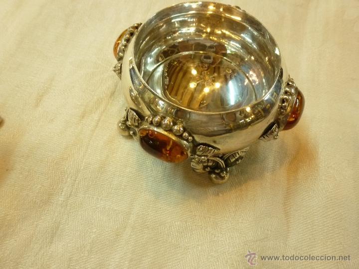 Antigüedades: caja con caballero en plata - Foto 5 - 40031419