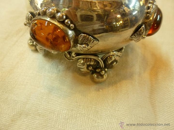 Antigüedades: caja con caballero en plata - Foto 8 - 40031419