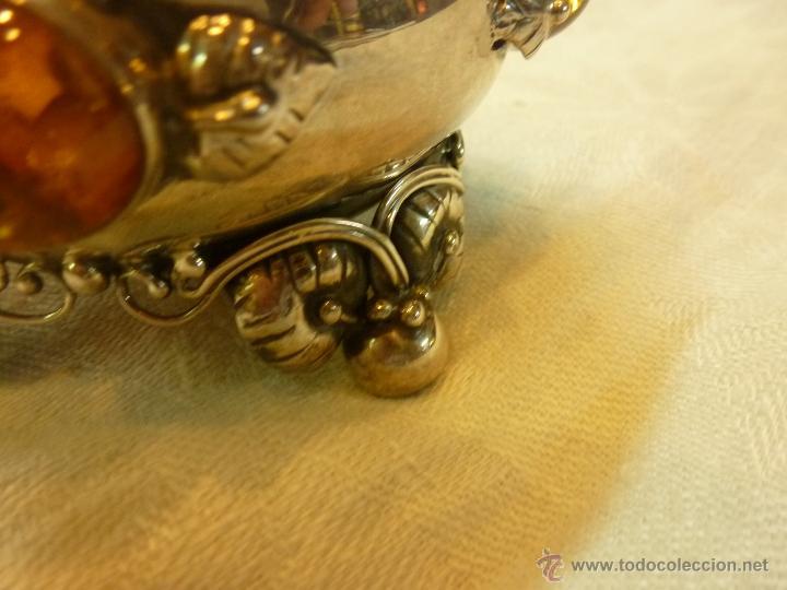 Antigüedades: caja con caballero en plata - Foto 18 - 40031419