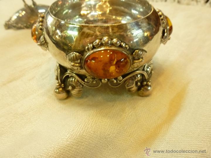 Antigüedades: caja con caballero en plata - Foto 23 - 40031419