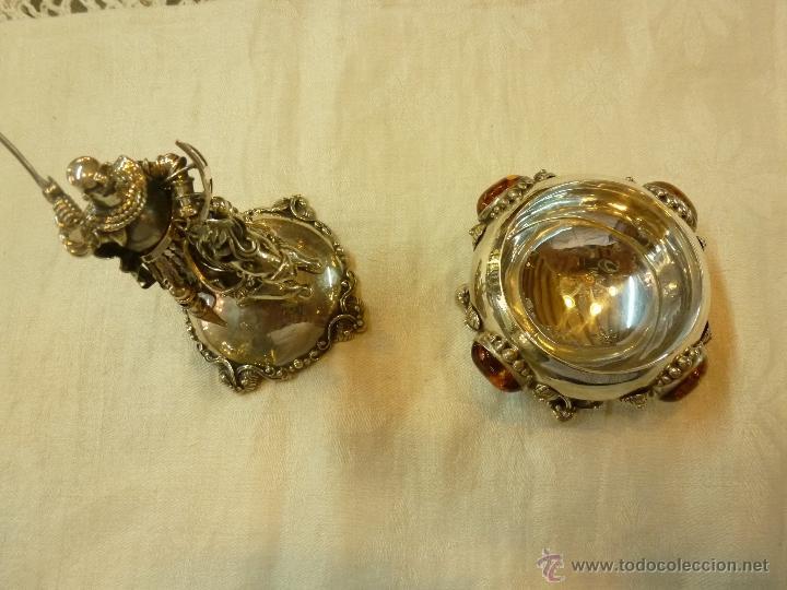 Antigüedades: caja con caballero en plata - Foto 25 - 40031419