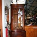 Antigüedades: VITRINA ESQUINERA INGLESA REF.5571. Lote 40044619