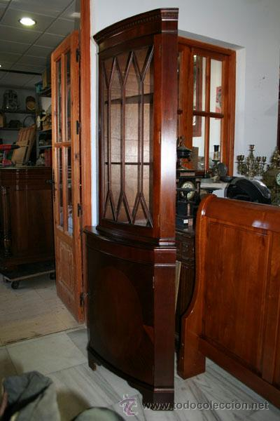 Antigüedades: VITRINA ESQUINERA INGLESA REF.5571 - Foto 5 - 40044619