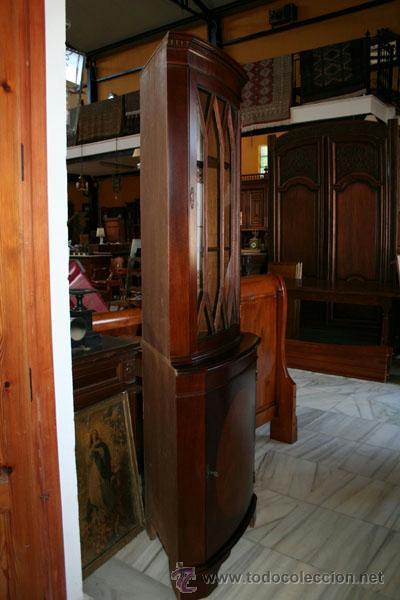 Antigüedades: VITRINA ESQUINERA INGLESA REF.5571 - Foto 6 - 40044619