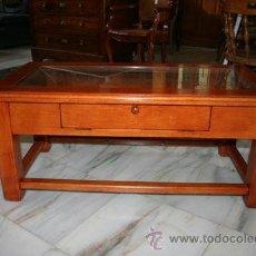 Antigüedades: MESA DE CENTRO,ROBLE REF.5572. Lote 40045064