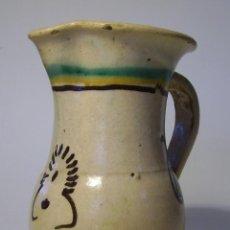 Antigüedades: JARRA CERAMICA PUENTE DEL ARZOBISPO XIX . Lote 40087493
