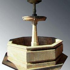 Antigüedades: GRANDIOSA FUENTE EN MARMOL. ¡¡HAGA SU OFERTA!!. Lote 40341922