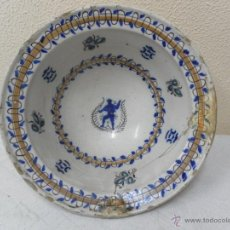 Antigüedades: CUENCO DE MANISES. SIGLO XIX. . Lote 40141640