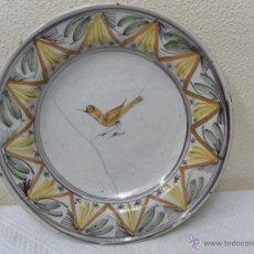 Antigüedades: PLATO DE RIBESALBES. SIGLO XIX.. Lote 40145094