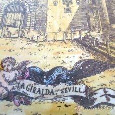 Antigüedades: PANEL DE AZULEJOS ENMARCADOS. LA GIRALDA DE SEVILLA. FIRMADOS. OROZCO. CONJUNTO. Lote 40139054