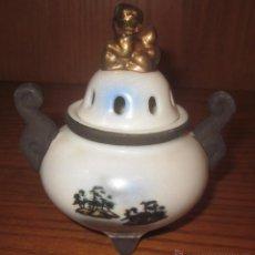 Antigüedades: RECIPIENTE DE PORCELANA NAKASIMA(JAPÓN),AÑOS 50. Lote 40142683