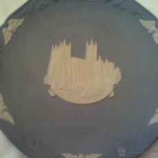 Antigüedades: PLATO DE PORCELANA INGLESA WEDGWOOD CRISTMAS 1986. Lote 40164652