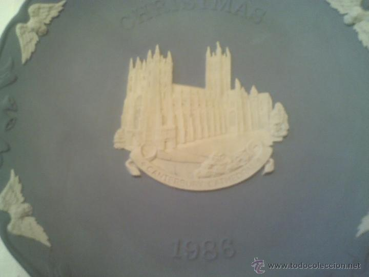 Antigüedades: PLATO DE PORCELANA INGLESA WEDGWOOD CRISTMAS 1986 - Foto 2 - 40164652