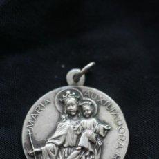 Oggetti Antichi: MEDALLA DE MARIA AUXILIADORA Y SAGRADO CORAZON. Lote 161611102
