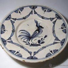 Antigüedades: GRAN PLATO CERAMICA CATALANA XVIII. Lote 40177049