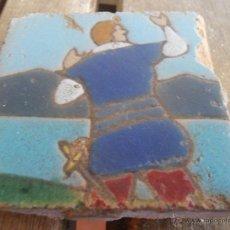 Antigüedades: AZULEJO OLAMBRILLAS ANTIGUAS TRIANA SEVILLA. Lote 40182180