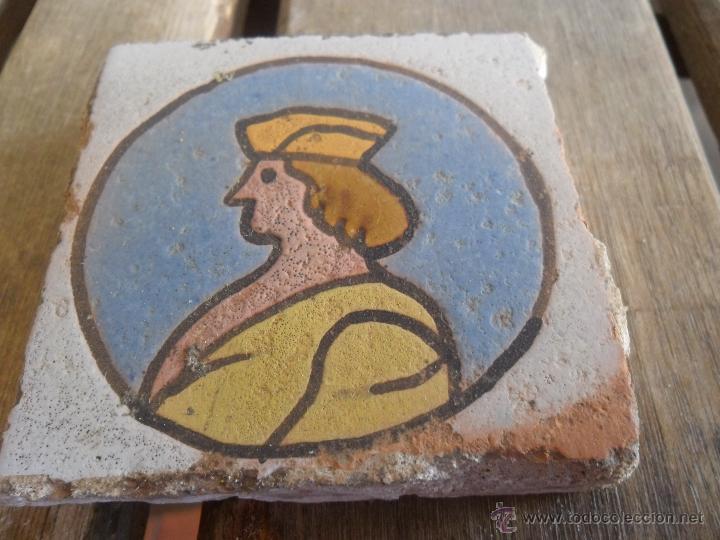 AZULEJO OLAMBRILLAS ANTIGUAS TRIANA SEVILLA (Antigüedades - Porcelanas y Cerámicas - Triana)
