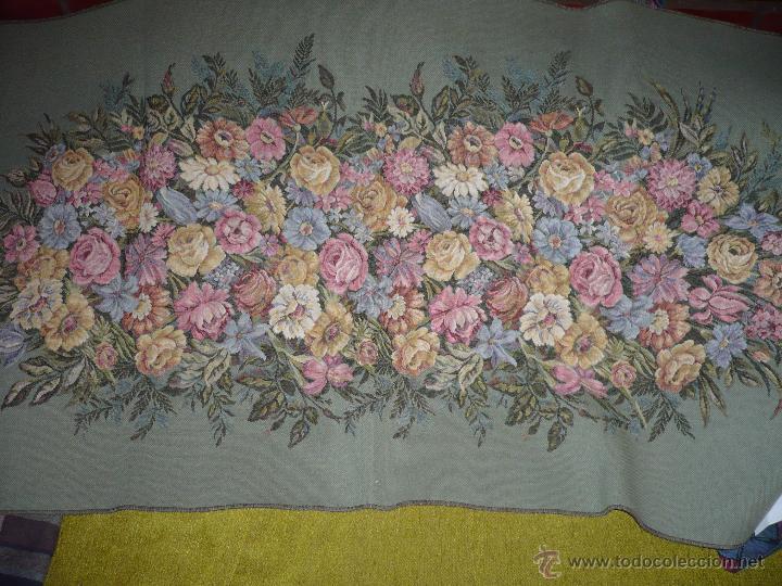 Antigüedades: Tapiz de flores - Foto 2 - 40183827
